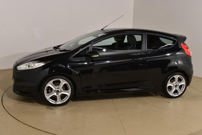 2015 Ford Fiesta ST WZ MY15 Panther Black