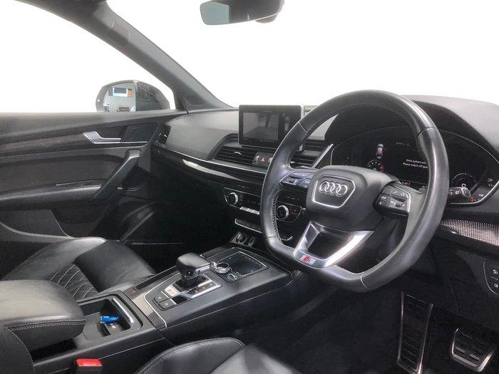 2018 Audi SQ5 FY MY18 Four Wheel Drive White