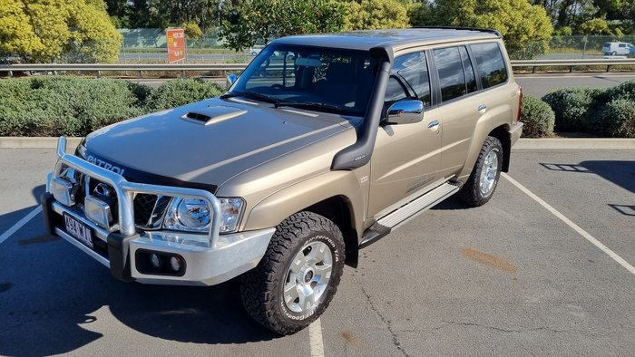 2016 Nissan Patrol N-TEC Y61 4X4 Dual Range Desert Gold
