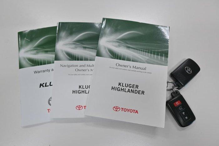 2015 Toyota Kluger Grande GSU55R AWD Silver Sky