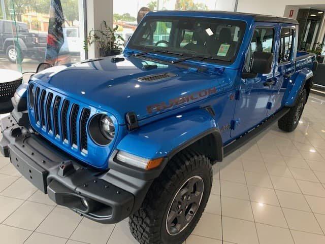 2021 Jeep Gladiator Rubicon JT MY21 V2 4X4 On Demand Hydro Blue