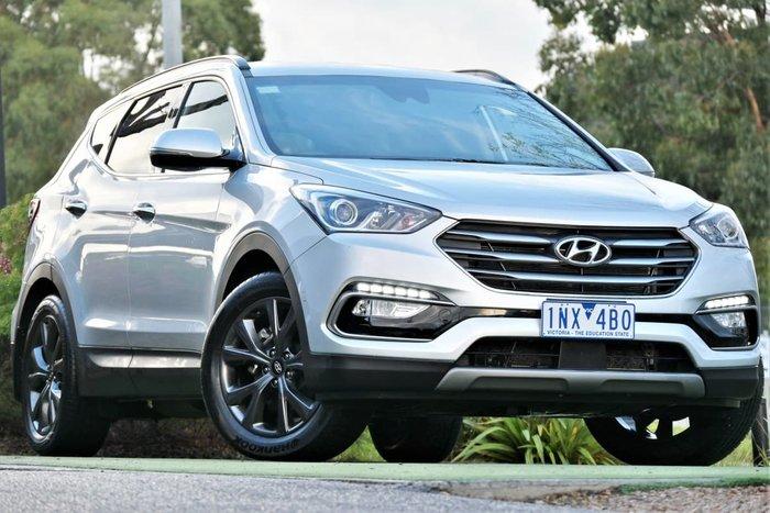2018 Hyundai Santa Fe Active X DM5 Series II MY18 Silver