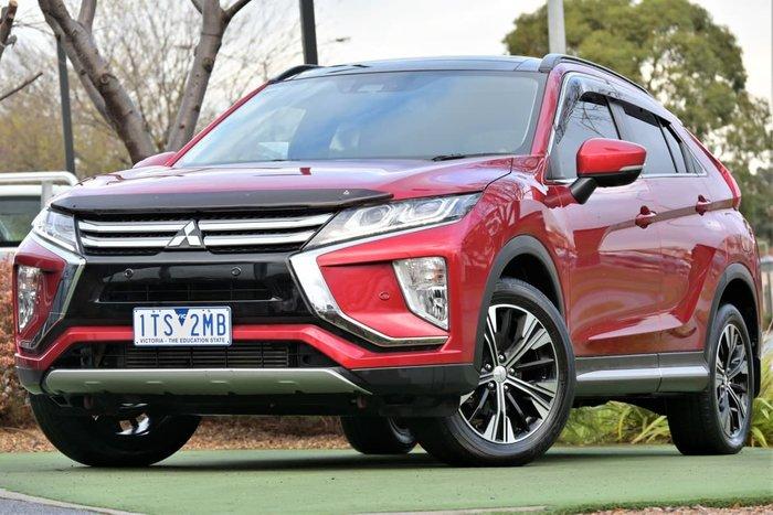 2018 Mitsubishi Eclipse Cross Exceed YA MY18 Red Diamond