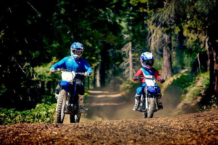 2021 Yamaha TT-R50E TT-R Team Yamaha Blue & White