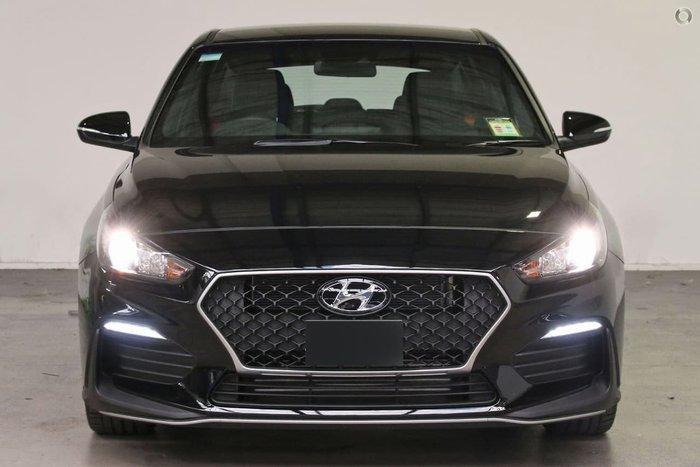 2021 Hyundai i30 N Line PD.V4 MY21 Black