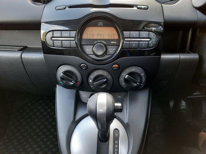 2011 Mazda 2 Neo DE Series 2 MY12 Aluminium
