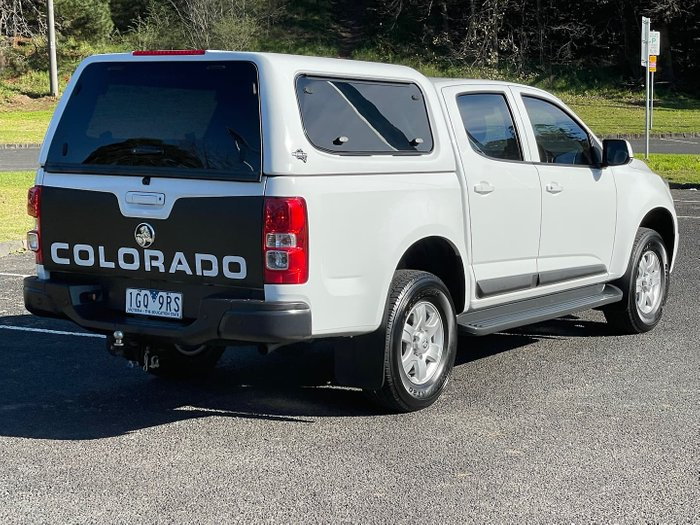 2015 Holden Colorado LT RG MY16 Summit White
