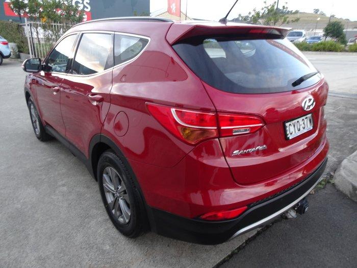 2015 Hyundai Santa Fe Active DM2 MY15 4X4 On Demand Red Merlot