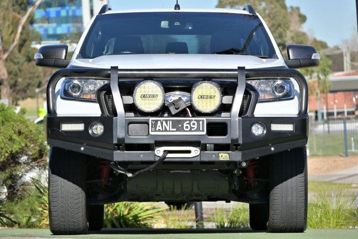 2017 Ford Ranger Wildtrak PX MkII 4X4 Dual Range Frozen White
