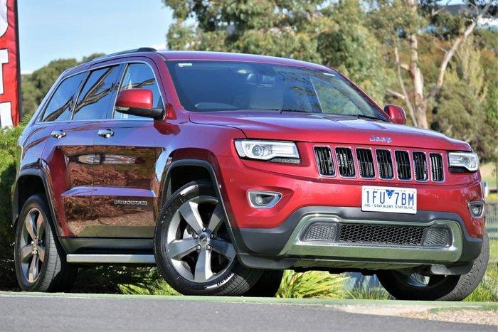 2015 Jeep Grand Cherokee Limited WK MY15 4X4 Dual Range Deep Cherry Red