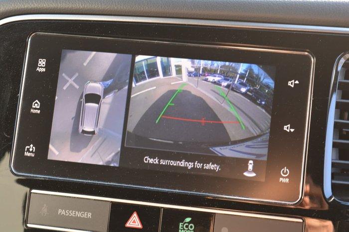 2018 Mitsubishi Outlander PHEV Exceed ZL MY19 AWD Ruby Black