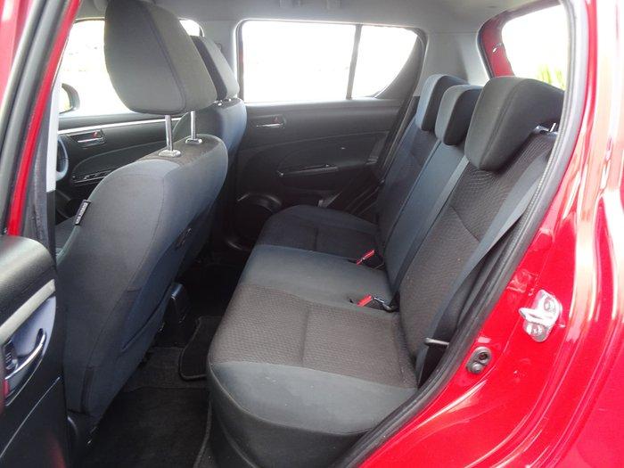 2013 Suzuki Swift GL FZ Red
