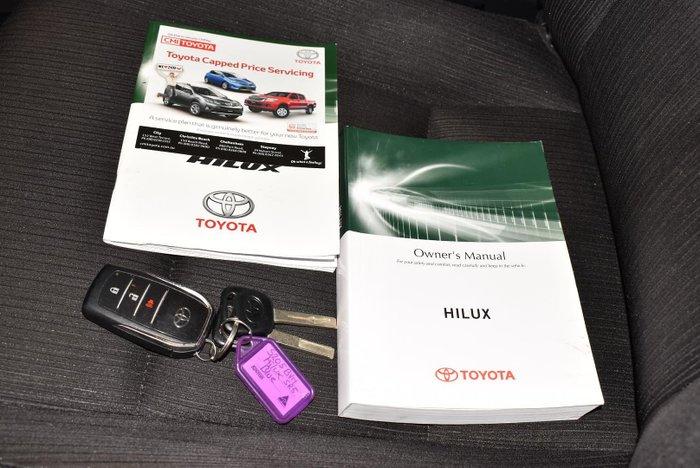2018 Toyota Hilux SR5 GUN126R 4X4 Dual Range Nebula Blue
