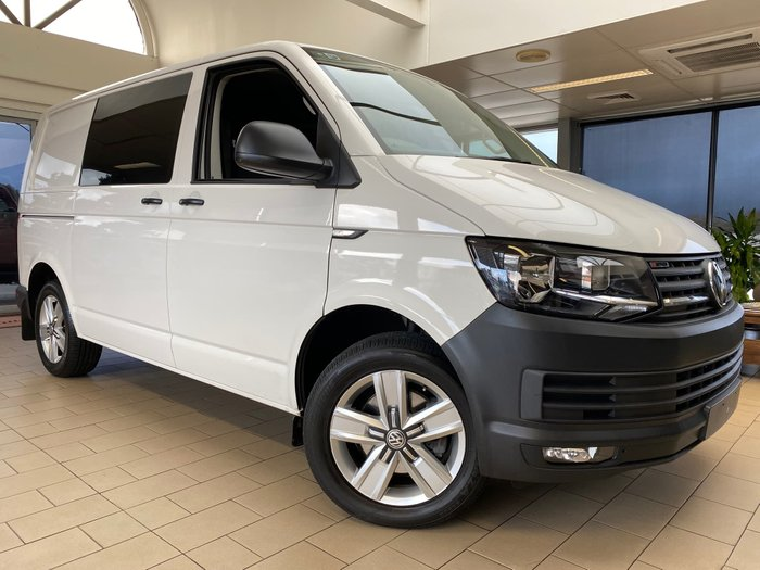 2017 Volkswagen Transporter TDI400 T6 MY18 Four Wheel Drive Candy White