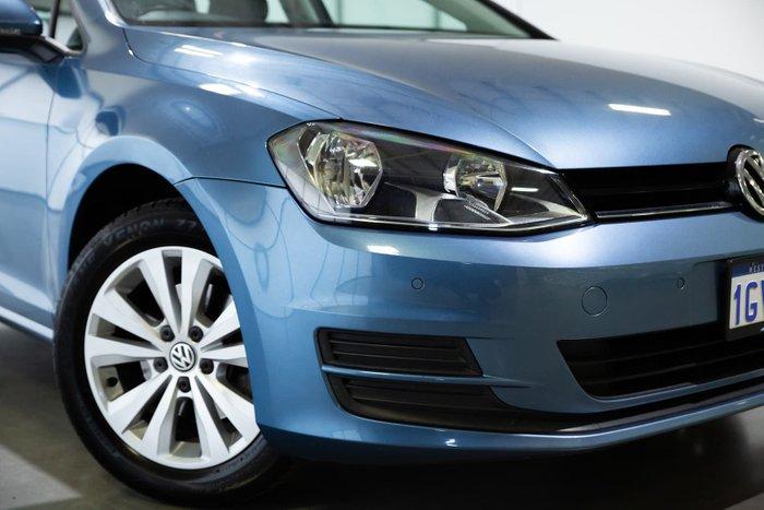 2015 Volkswagen Golf 90TSI Comfortline 7 MY15 Pacific Blue