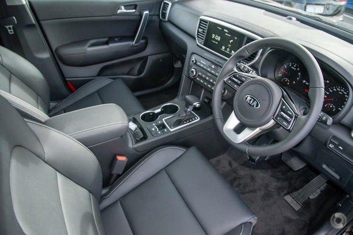 2021 Kia Sportage SX+ QL MY21 Cherry Black