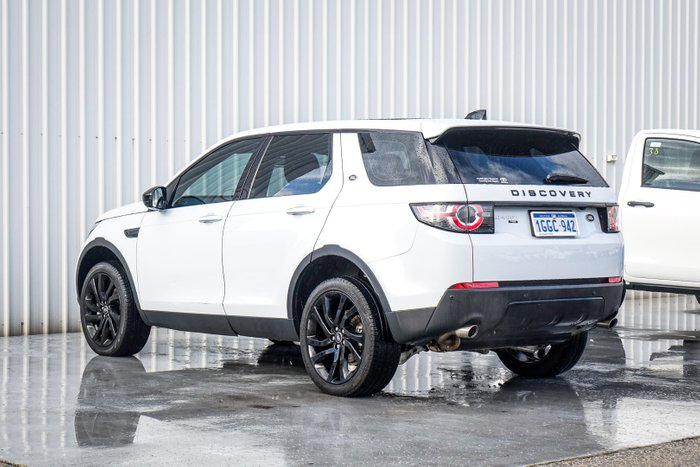 2017 Land Rover Discovery Sport TD4 180 HSE Luxury L550 MY17 4X4 Constant White