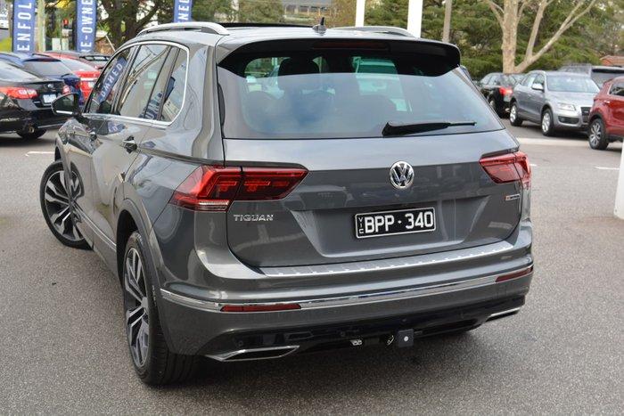 2020 Volkswagen Tiguan 162TSI Highline 5N MY20 Four Wheel Drive Indium Grey