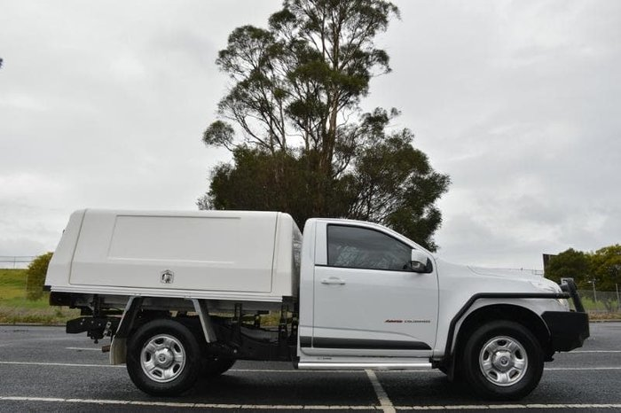 2016 Holden Colorado LS RG MY16 4X4 Dual Range Summit White