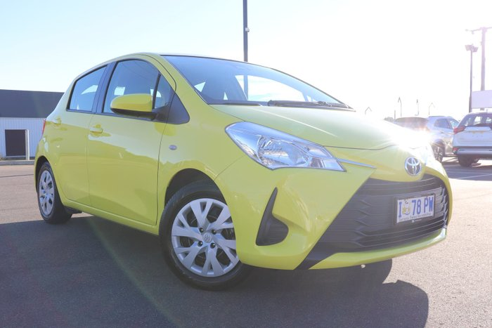 2019 Toyota Yaris Ascent NCP130R Vivid Yellow