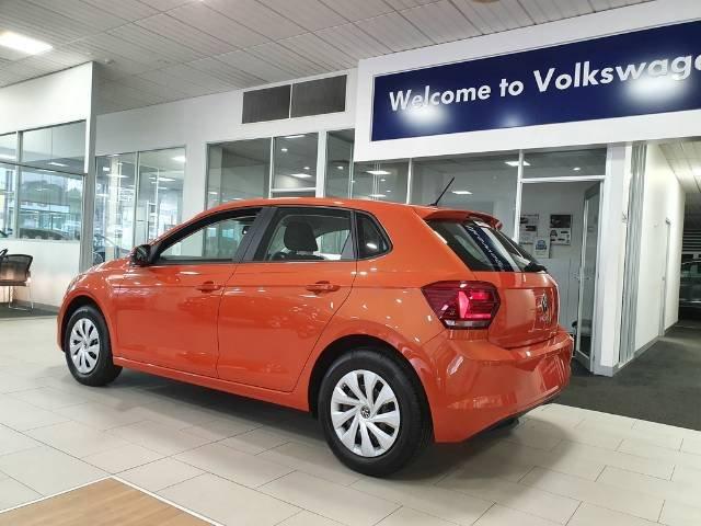 2021 Volkswagen Polo 70TSI Trendline AW MY21 ENERGETIC ORANGE
