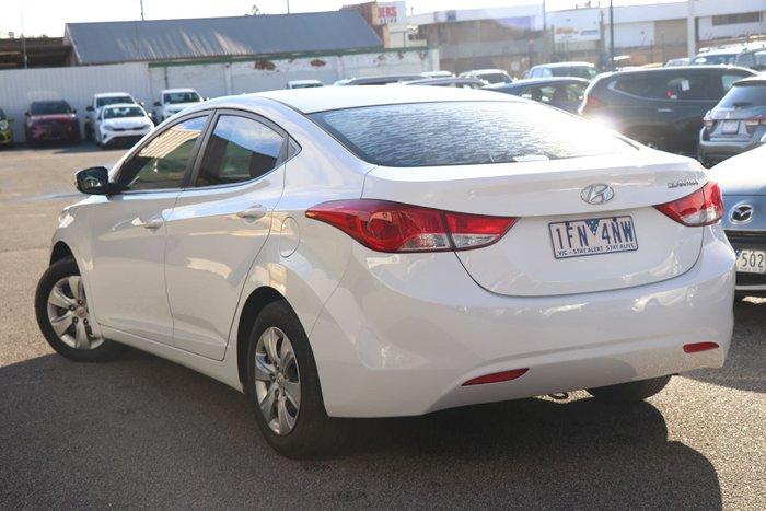 2011 Hyundai Elantra Active MD White