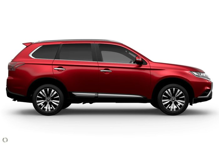 2021 Mitsubishi Outlander Exceed ZL MY21 AWD Red