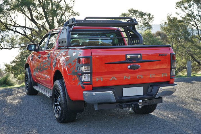 2018 Ford Ranger XLT PX MkII MY18 4X4 Dual Range Race Red