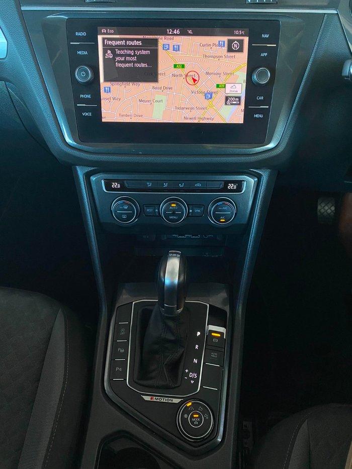2018 Volkswagen Tiguan 132TSI Comfortline 5N MY18 Four Wheel Drive Silver