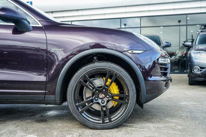 2012 Porsche Cayenne Diesel 92A MY12 4X4 Constant Amethyst