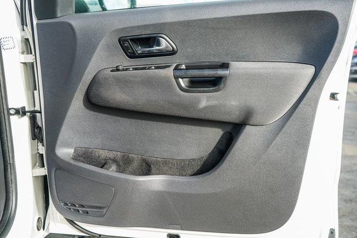 2013 Volkswagen Amarok TDI400 Highline 2H MY13 4X4 Dual Range Candy White