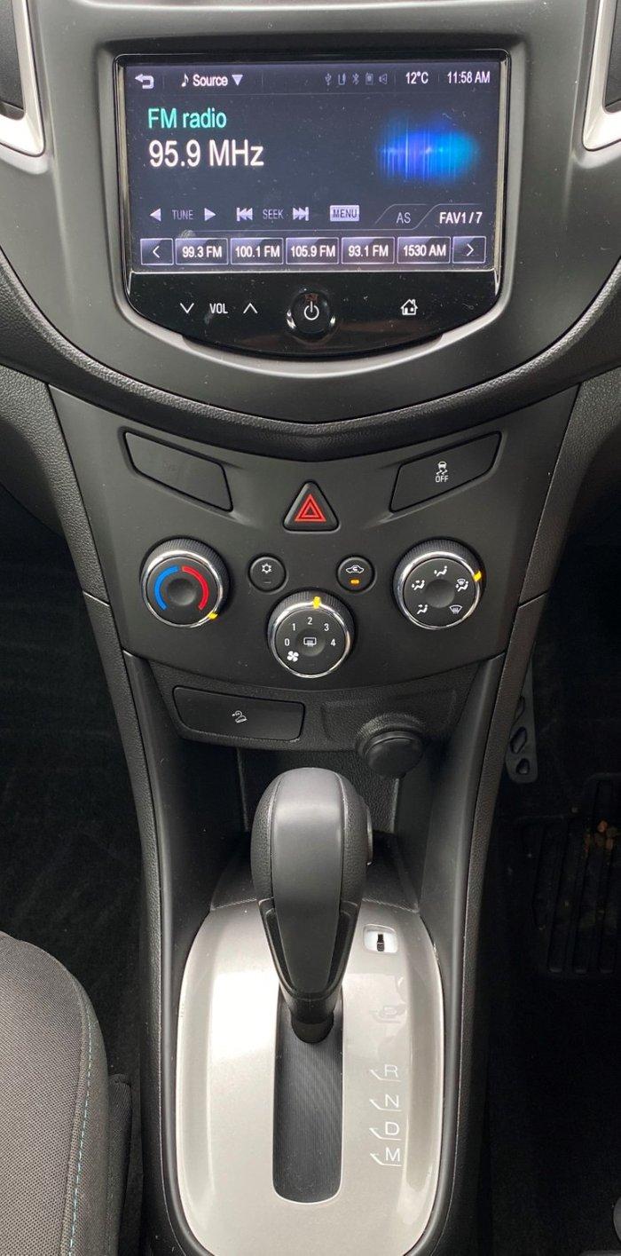 2015 Holden Trax LS TJ MY16 Silver