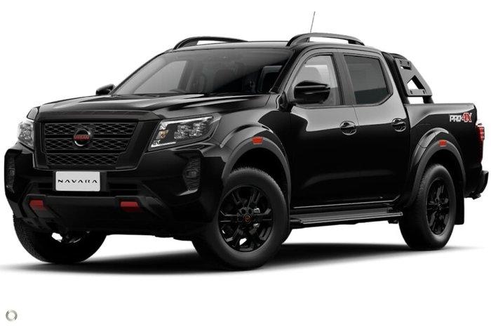 2021 Nissan Navara PRO-4X D23 4X4 Dual Range Black