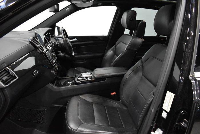 2016 Mercedes-Benz GLE-Class GLE500 W166 Four Wheel Drive Black