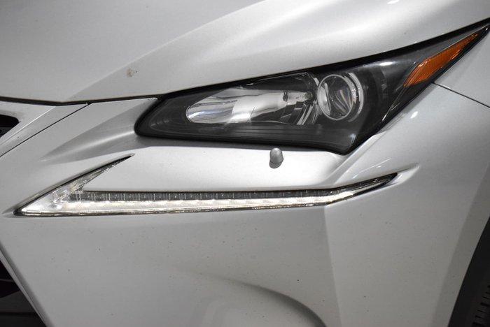 2017 Lexus NX NX200t Luxury AGZ10R Silver
