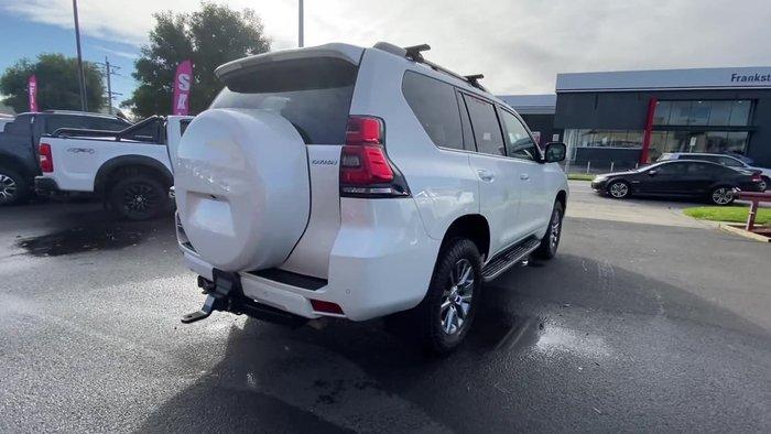 2018 Toyota Landcruiser Prado Kakadu GDJ150R 4X4 Dual Range White