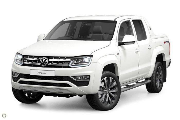 2020 Volkswagen Amarok TDI580 Aventura 2H MY21 4X4 Constant White