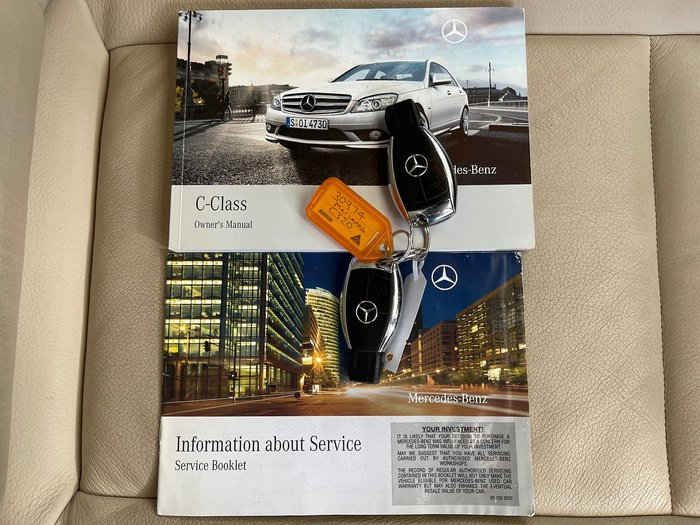2008 Mercedes-Benz C-Class C320 CDI Avantgarde W204 Silver