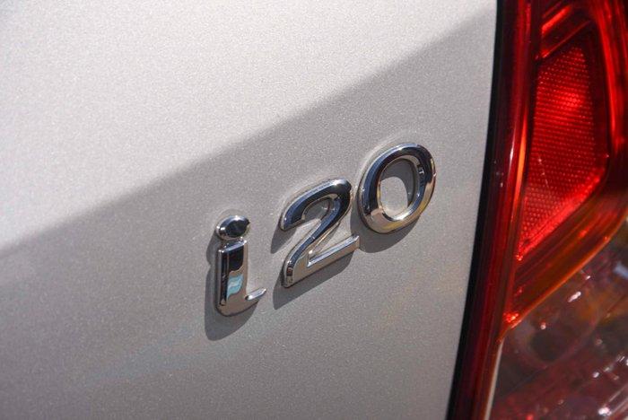 2014 Hyundai i20 Active PB MY14 Sleek Silver