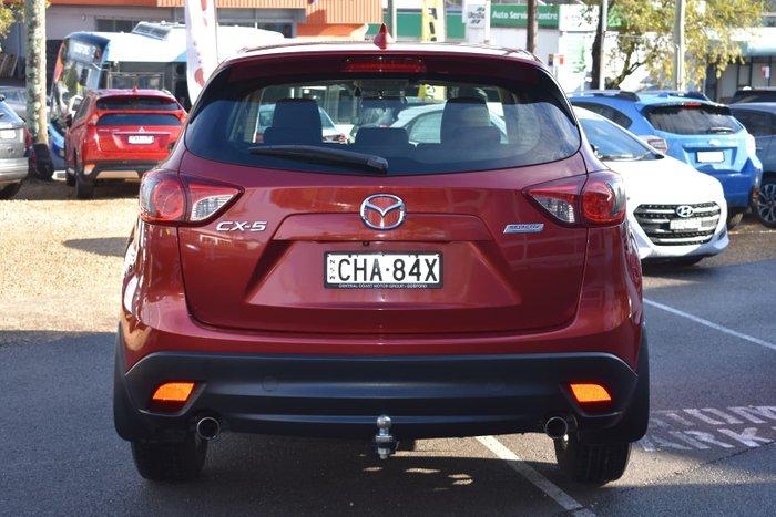 2012 Mazda CX-5 Maxx Sport KE Series Zeal Red