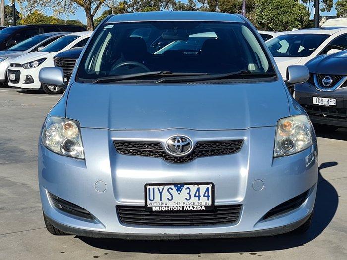 2007 Toyota Corolla Ascent ZRE152R Aztec Blue