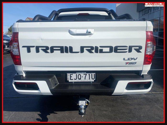 2020 LDV T60 Trailrider 2 SK8C BLANC WHITE