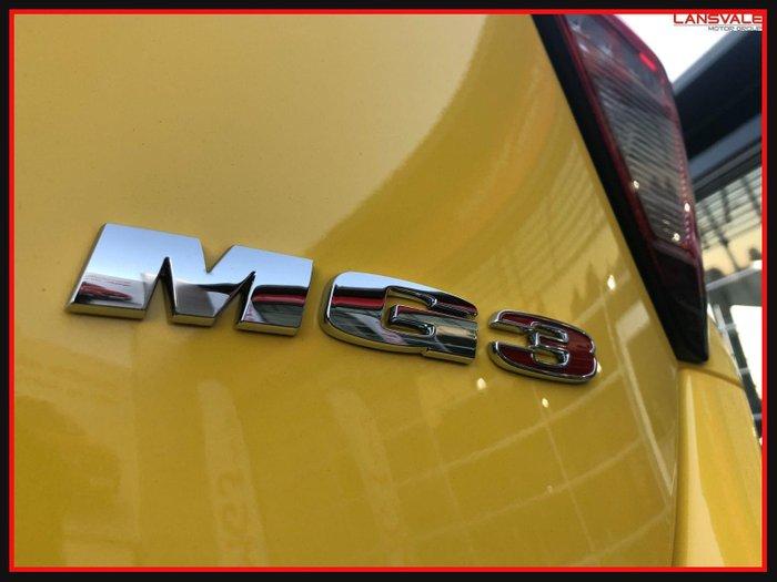 2021 MG MG3 Core SZP1 MY21 TUDOR YELLOW