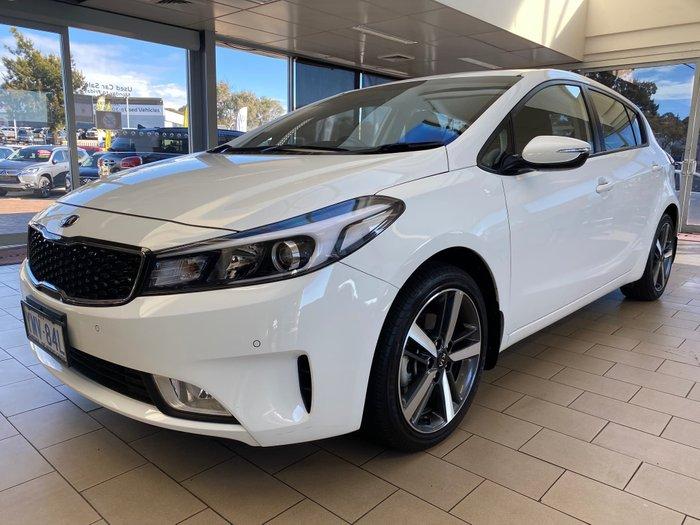 2018 Kia Cerato Sport YD MY18 Clear White