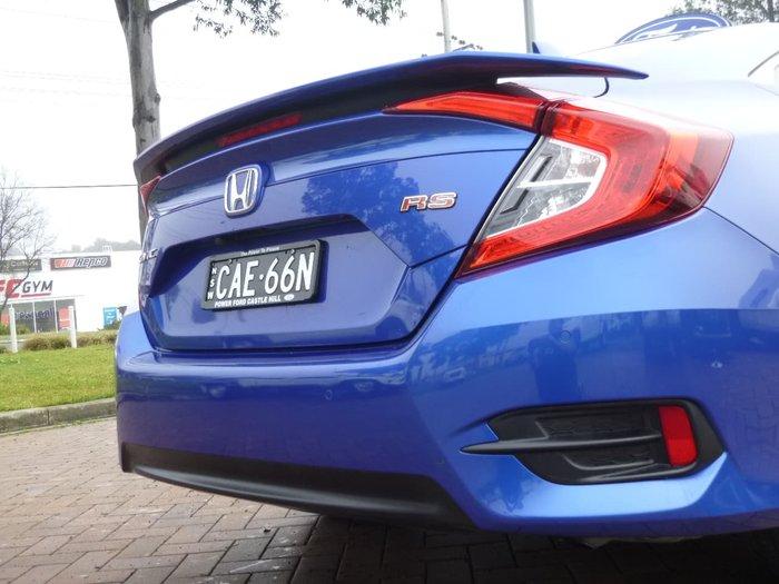 2017 Honda Civic RS 10th Gen MY16 Blue