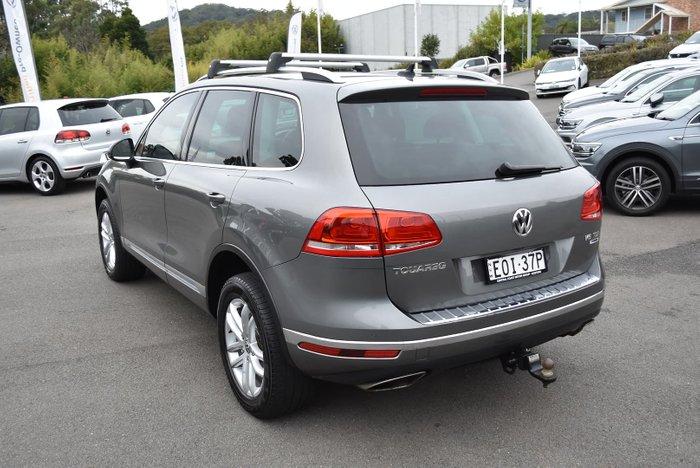 2015 Volkswagen Touareg 150TDI Element 7P MY16 Four Wheel Drive Canyon Grey