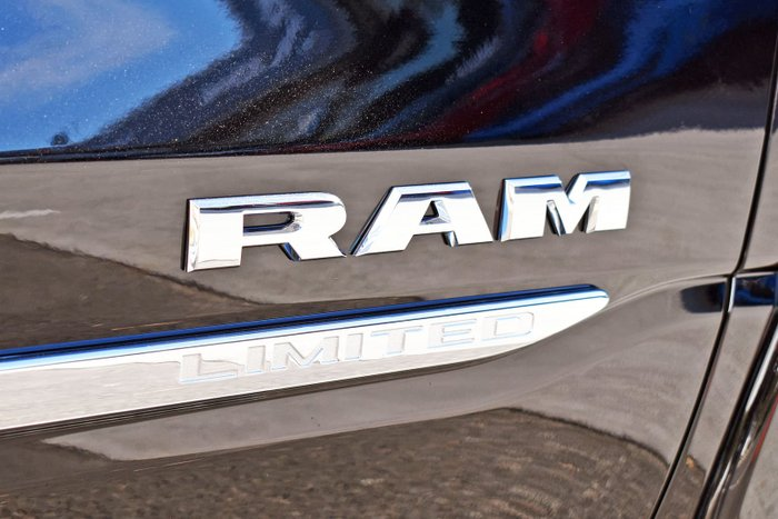 2021 RAM 1500 Limited RamBox DT MY21 4X4 Dual Range Diamond Black
