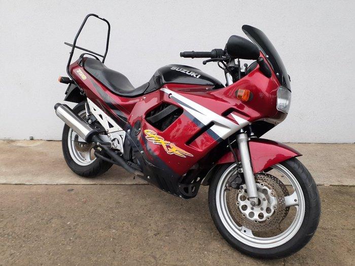 1997 Suzuki GSX750F MAROON