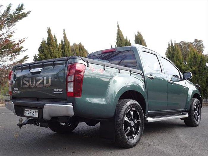 2017 Isuzu D-MAX LS-Terrain MY17 4X4 Dual Range Green