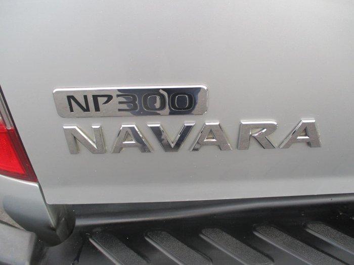2016 Nissan Navara ST D23 4X4 Dual Range Brilliant Silver